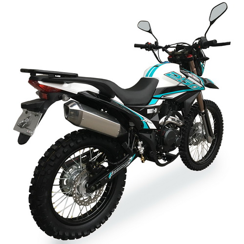 МОТОЦИКЛ SHINERAY XY 250GY-6C Turquoise Blue ― Артмото - купить квадроцикл в украине и харькове, мотоцикл, снегоход, скутер, мопед, электромобиль