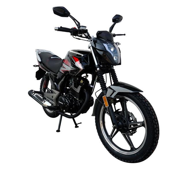 МОТОЦИКЛ MUSSTANG REGION MT200 black ― Артмото - купить квадроцикл в украине и харькове, мотоцикл, снегоход, скутер, мопед, электромобиль