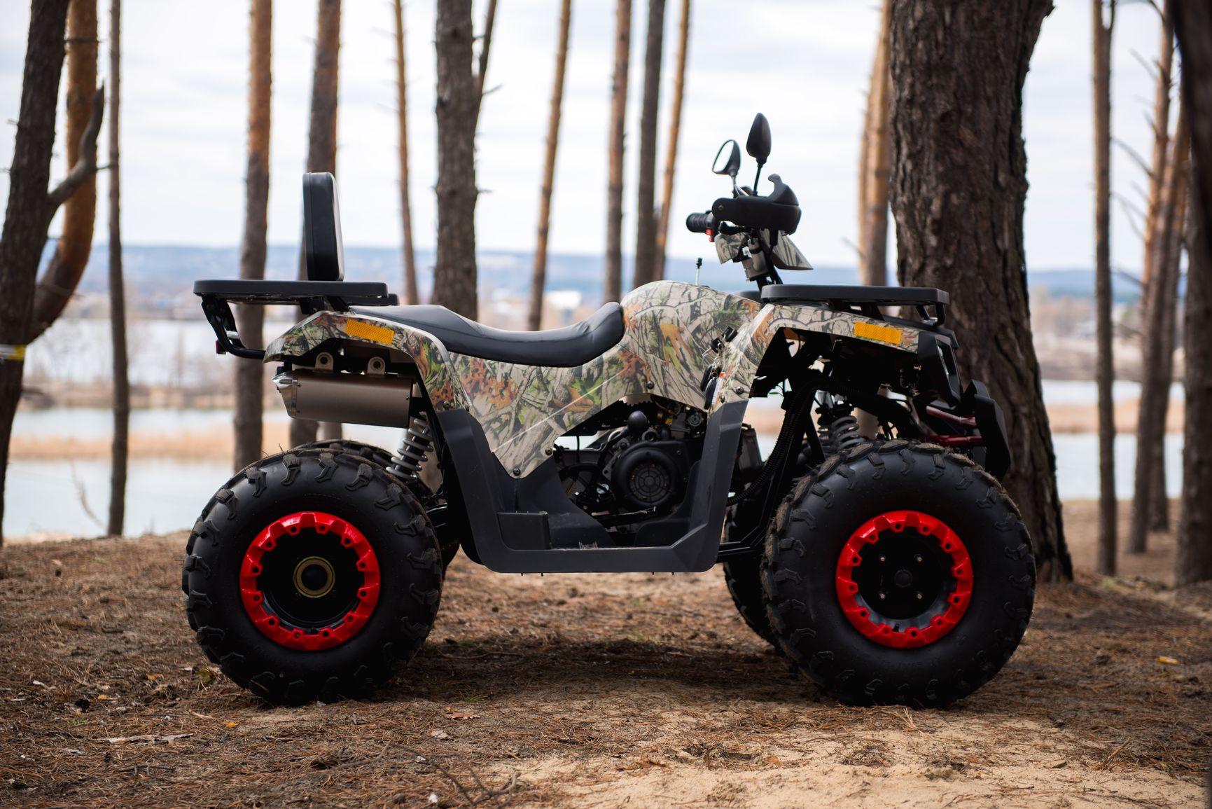 КВАДРОЦИКЛ COMMAN SCORPION 200 ― Артмото - купить квадроцикл в украине и харькове, мотоцикл, снегоход, скутер, мопед, электромобиль