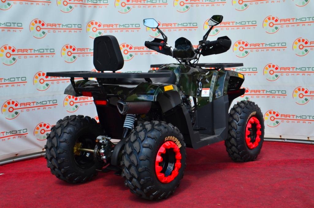 КВАДРОЦИКЛ COMMAN SCORPION 200  Артмото - купить квадроцикл в украине и харькове, мотоцикл, снегоход, скутер, мопед, электромобиль
