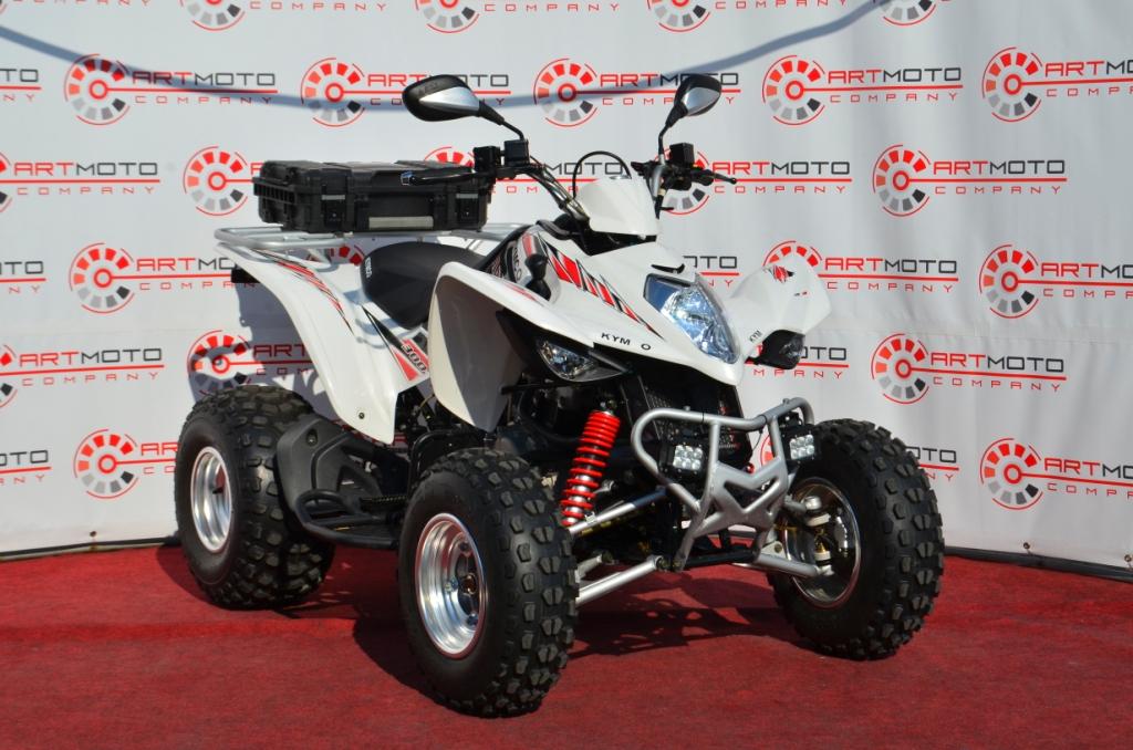 КВАДРОЦИКЛ KYMCO MAXXER 300 б.у ― Артмото - купить квадроцикл в украине и харькове, мотоцикл, снегоход, скутер, мопед, электромобиль