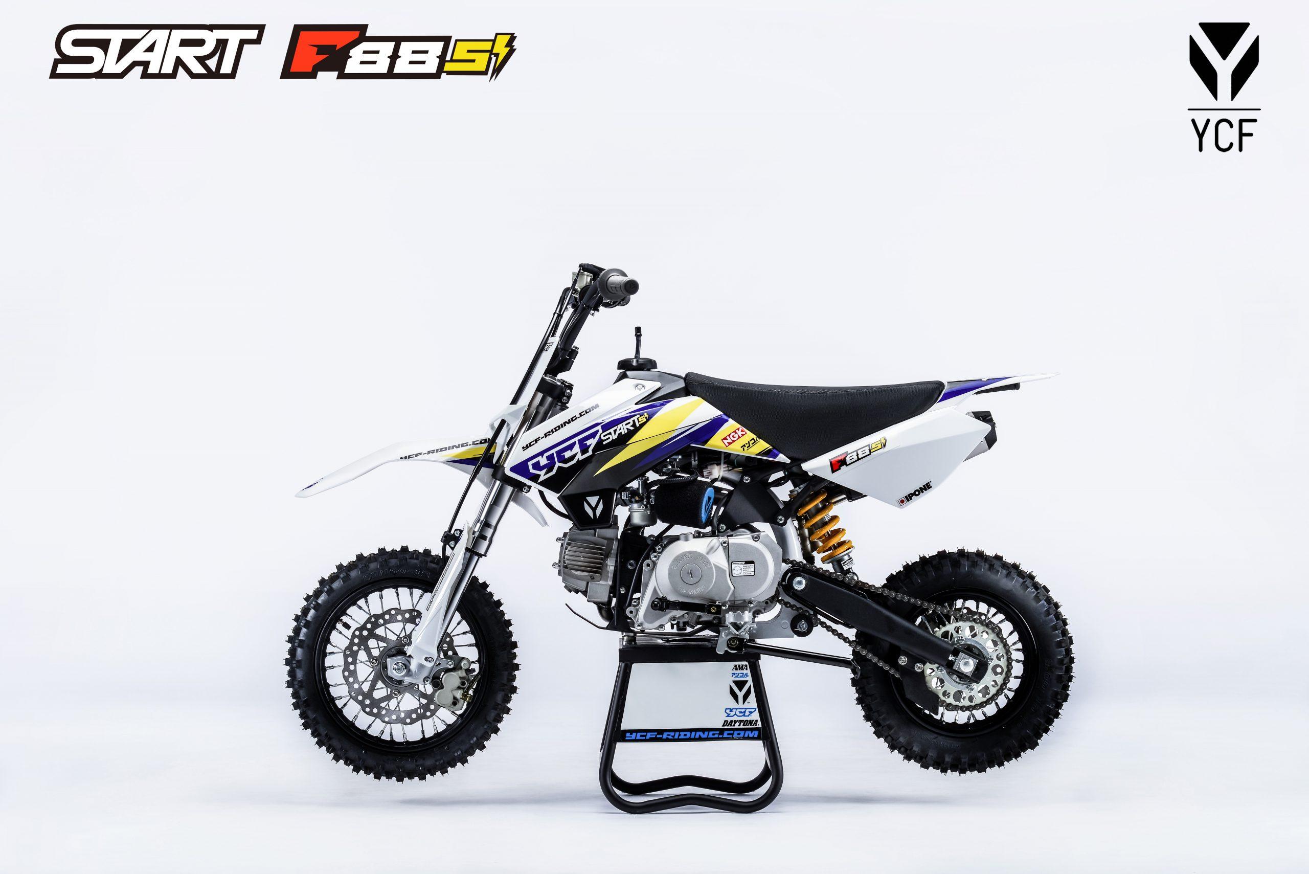 ПИТБАЙК YCF START F88SE 2021  Артмото - купить квадроцикл в украине и харькове, мотоцикл, снегоход, скутер, мопед, электромобиль