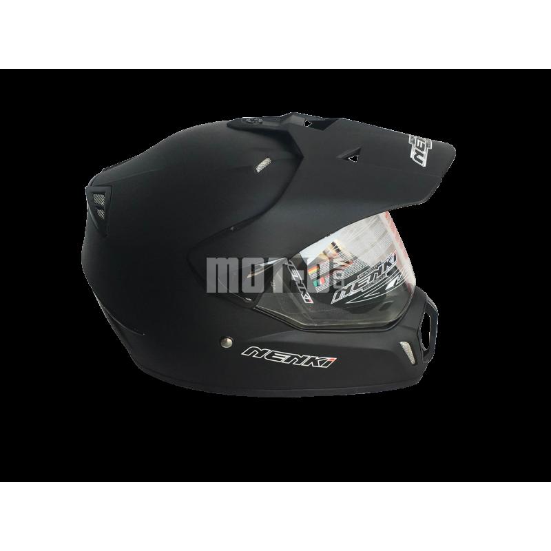 Мотошлем Nenki MX-310 Matte Black ― Артмото - купить квадроцикл в украине и харькове, мотоцикл, снегоход, скутер, мопед, электромобиль
