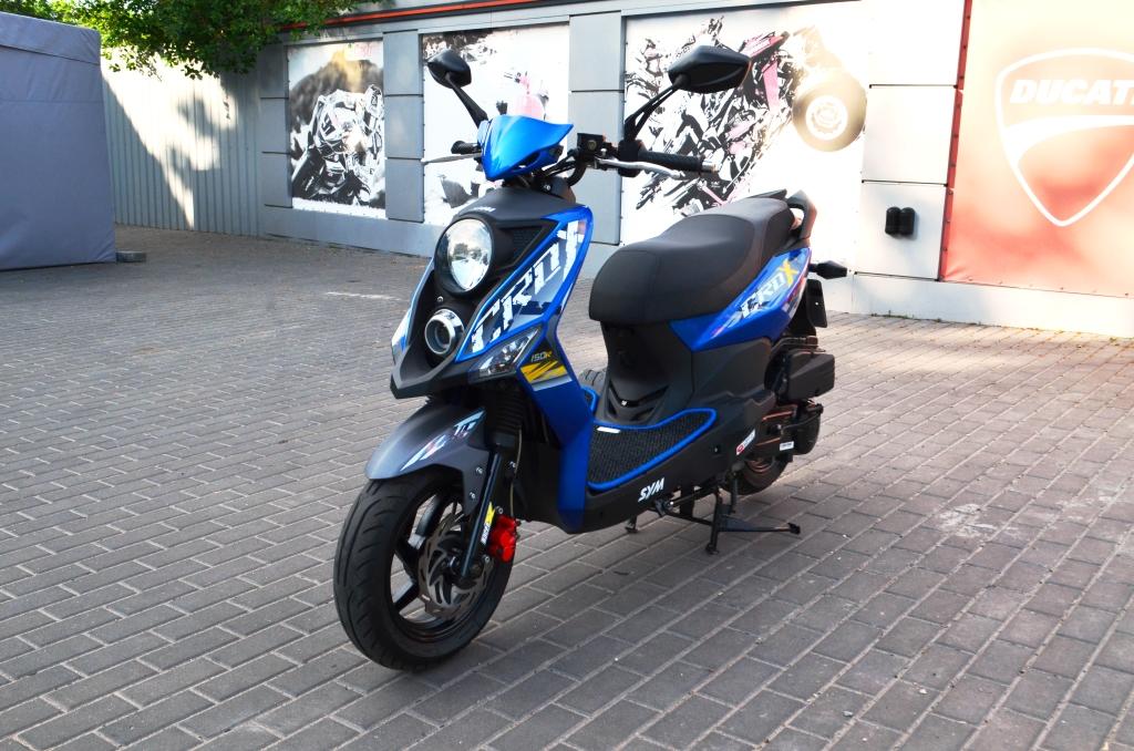 СКУТЕР SYM CROX 150 Б/У ― Артмото - купить квадроцикл в украине и харькове, мотоцикл, снегоход, скутер, мопед, электромобиль