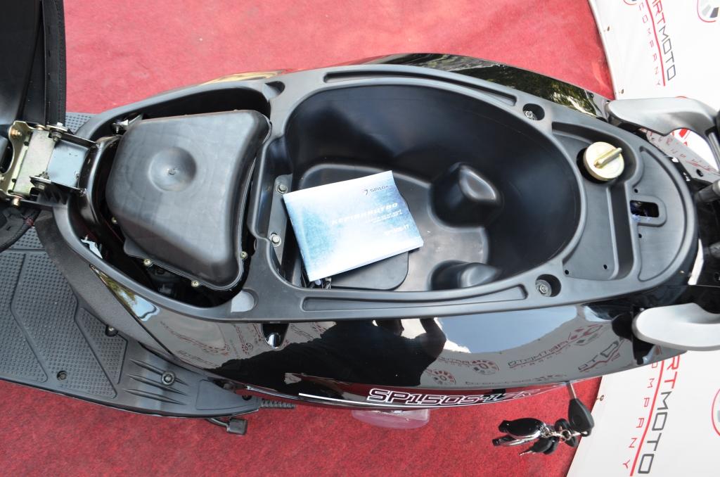 СКУТЕР SPARK SP150S-17R  (Storm 150) ― Артмото - купить квадроцикл в украине и харькове, мотоцикл, снегоход, скутер, мопед, электромобиль