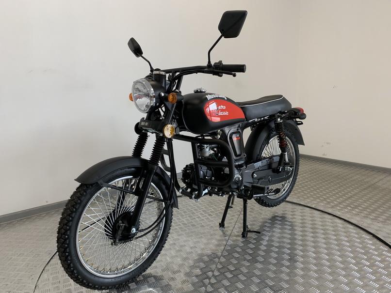 МОПЕД MUSSTANG RETRO CLASSIC 125  Артмото - купить квадроцикл в украине и харькове, мотоцикл, снегоход, скутер, мопед, электромобиль