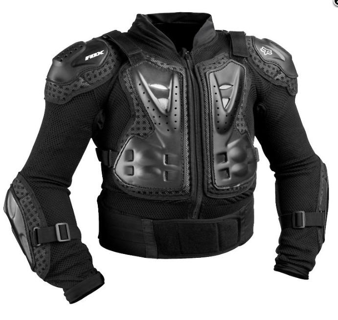 Детская мотозащита тела FOX Youth Titan Sport Jacket [Black] ― Артмото - купить квадроцикл в украине и харькове, мотоцикл, снегоход, скутер, мопед, электромобиль
