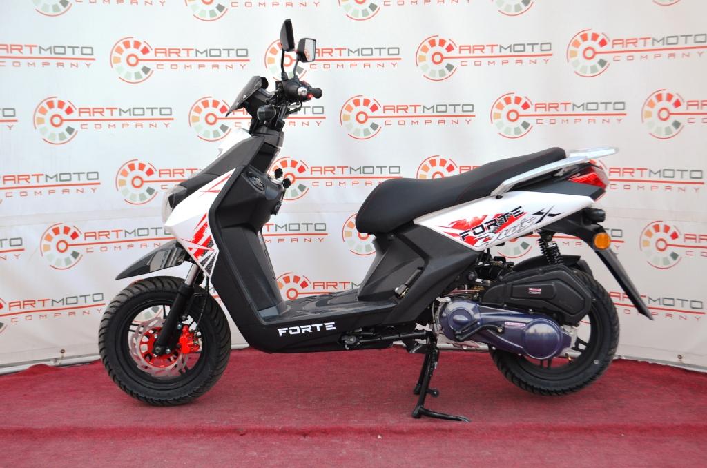 СКУТЕР FORTE BWS-R 150  Артмото - купить квадроцикл в украине и харькове, мотоцикл, снегоход, скутер, мопед, электромобиль
