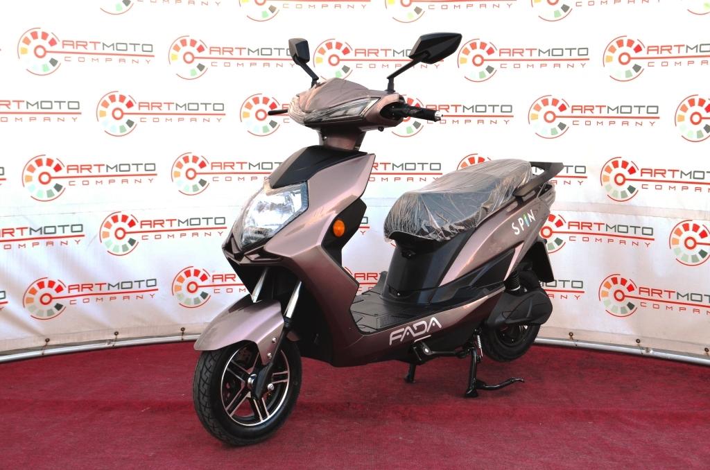 ЭЛЕКТРОСКУТЕР FADA SPIN  Артмото - купить квадроцикл в украине и харькове, мотоцикл, снегоход, скутер, мопед, электромобиль