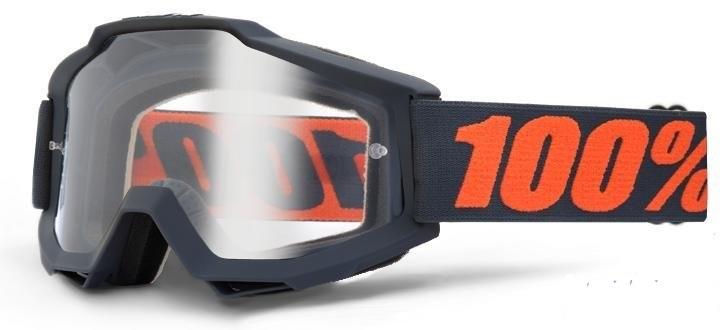 МОТО ОЧКИ 100% ACCURI ENDURO Goggle Gunmetal — Clear Dual Lens  Артмото - купить квадроцикл в украине и харькове, мотоцикл, снегоход, скутер, мопед, электромобиль