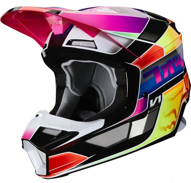 МОТОШЛЕМ FOX V1 YORR HELMET [MULTI]  Артмото - купить квадроцикл в украине и харькове, мотоцикл, снегоход, скутер, мопед, электромобиль