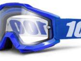 МОТО ОЧКИ 100% ACCURI ENDURO Goggle Reflex Blue — Clear Dual Lens