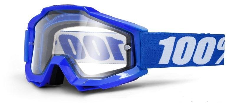 МОТО ОЧКИ 100% ACCURI ENDURO Goggle Reflex Blue — Clear Dual Lens  Артмото - купить квадроцикл в украине и харькове, мотоцикл, снегоход, скутер, мопед, электромобиль