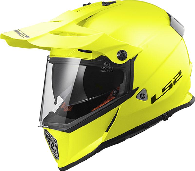 КРОССОВЫЙ (Эндуро) ШЛЕМ LS2 MX436 PIONEER GLOSS HI-VIZ YELLOW  Артмото - купить квадроцикл в украине и харькове, мотоцикл, снегоход, скутер, мопед, электромобиль