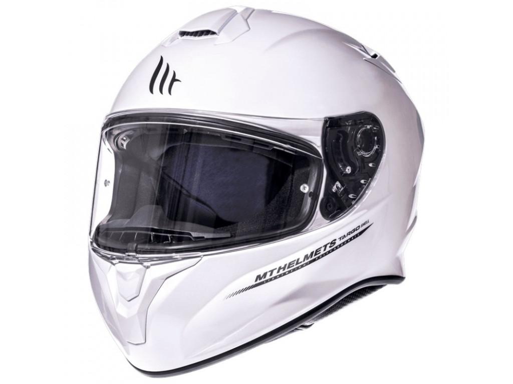МОТОШЛЕМ MT TARGO PEARL WHITE  Артмото - купить квадроцикл в украине и харькове, мотоцикл, снегоход, скутер, мопед, электромобиль