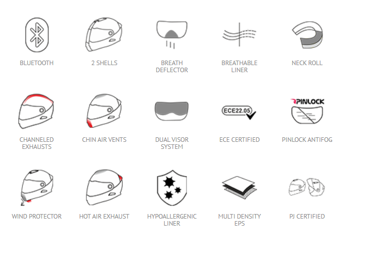 МОТОШЛЕМ SMK TWISTER SKULL (GL120)  Артмото - купить квадроцикл в украине и харькове, мотоцикл, снегоход, скутер, мопед, электромобиль