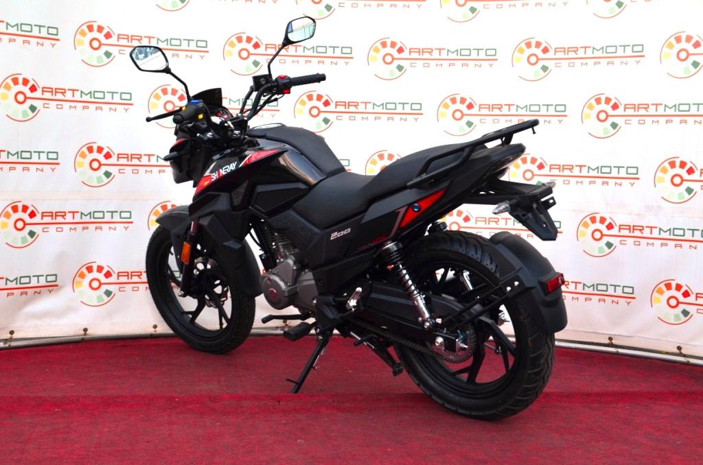 МОТОЦИКЛ SHINERAY DS200  Артмото - купить квадроцикл в украине и харькове, мотоцикл, снегоход, скутер, мопед, электромобиль