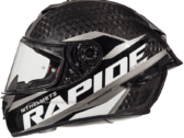 Мотошлем MT RAPIDE PRO CARBON GLOSS GREY