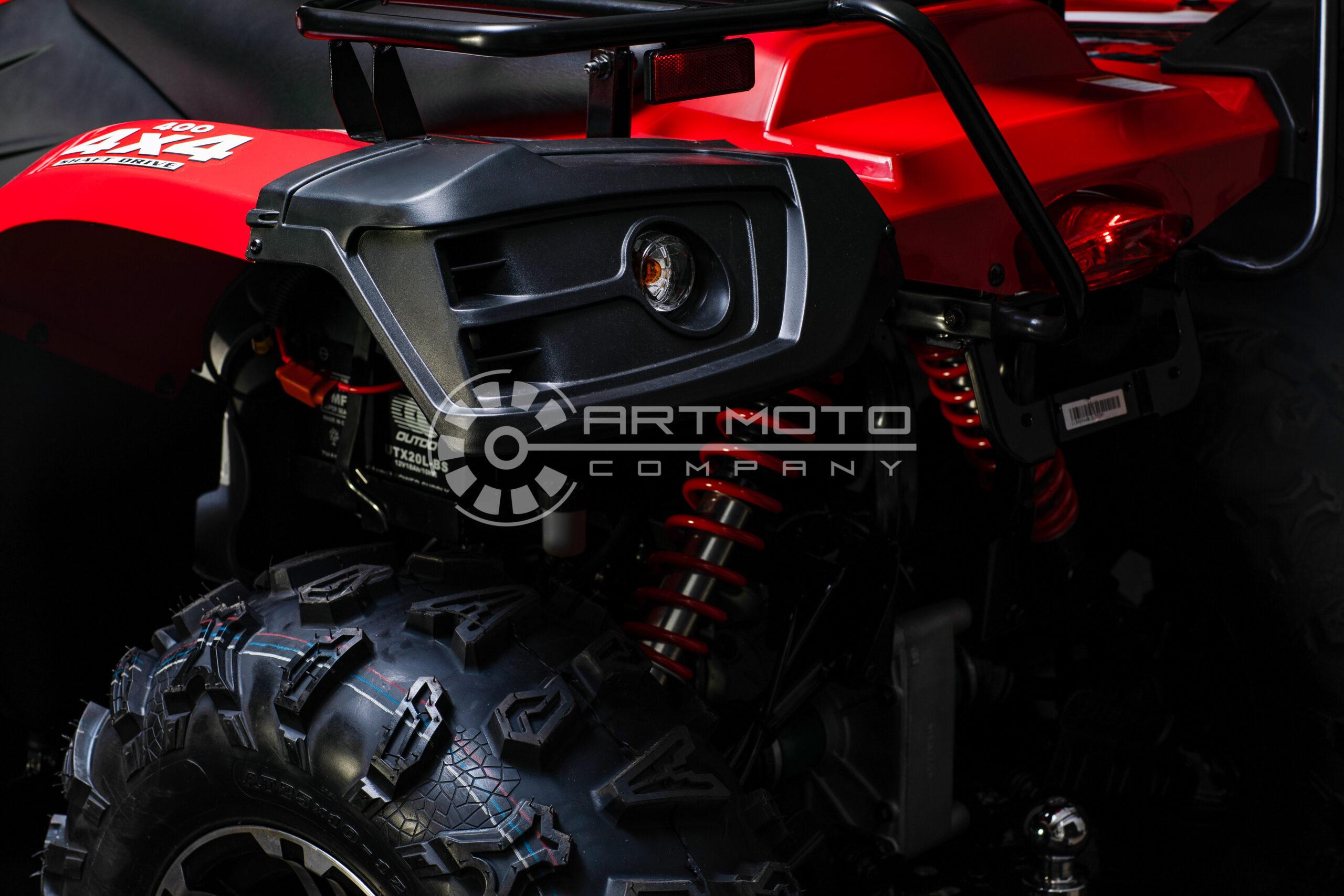 КВАДРОЦИКЛ LINHAI LH 400 ATV-D  Артмото - купить квадроцикл в украине и харькове, мотоцикл, снегоход, скутер, мопед, электромобиль