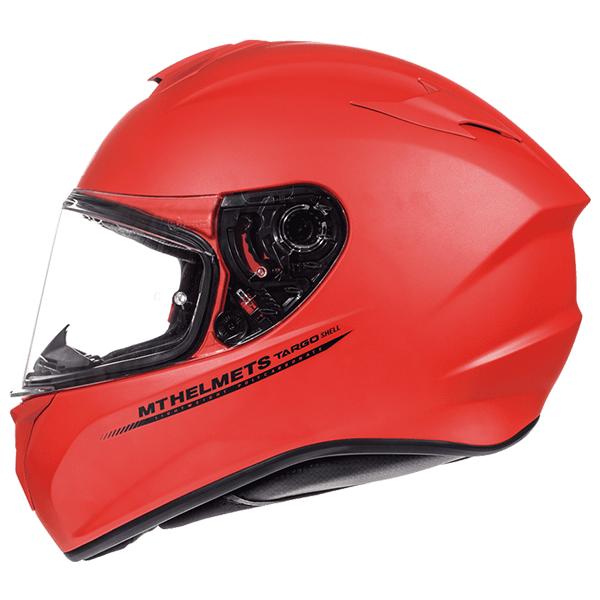 Мотошлем MT TARGO SOLID MATT RED  Артмото - купить квадроцикл в украине и харькове, мотоцикл, снегоход, скутер, мопед, электромобиль