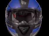 Мотошлем MT THUNDER 3 SV PITLANE MATT BLUE