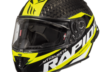 Мотошлем MT RAPIDE PRO CARBON GLOSS FLUOR YELLOW