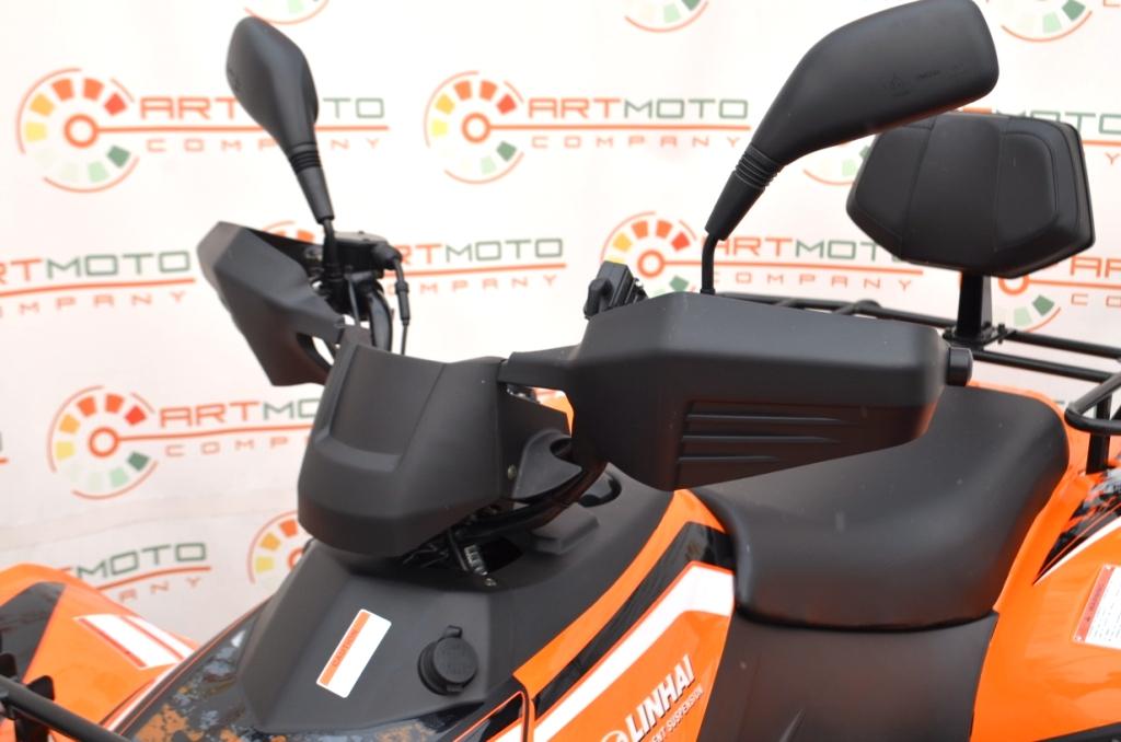 КВАДРОЦИКЛ LINHAI LH400ATV-D EFI  Артмото - купить квадроцикл в украине и харькове, мотоцикл, снегоход, скутер, мопед, электромобиль