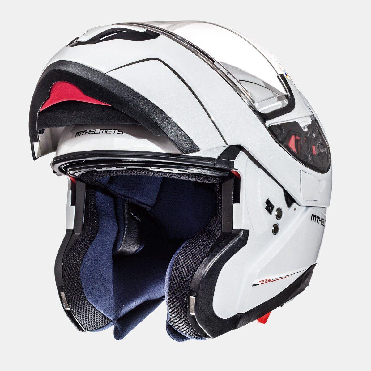 Мотошлем MT ATOM SV SOLID GLOSS WHITE  Артмото - купить квадроцикл в украине и харькове, мотоцикл, снегоход, скутер, мопед, электромобиль