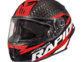 Мотошлем MT RAPIDE PRO CARBON GLOSS RED