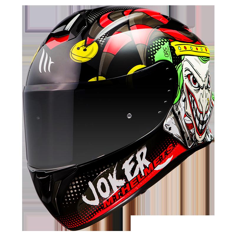 Мотошлем MT TARGO JOKER GLOSS BLACK  Артмото - купить квадроцикл в украине и харькове, мотоцикл, снегоход, скутер, мопед, электромобиль