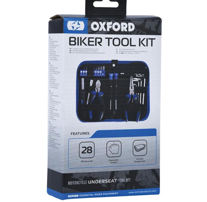 Набор инструментов Oxford Biker Tool Kit  Артмото - купить квадроцикл в украине и харькове, мотоцикл, снегоход, скутер, мопед, электромобиль