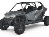 МОТОВЕЗДЕХОД POLARIS RZR Pro XP 4 Ultimate — Matte Titanium Metallic