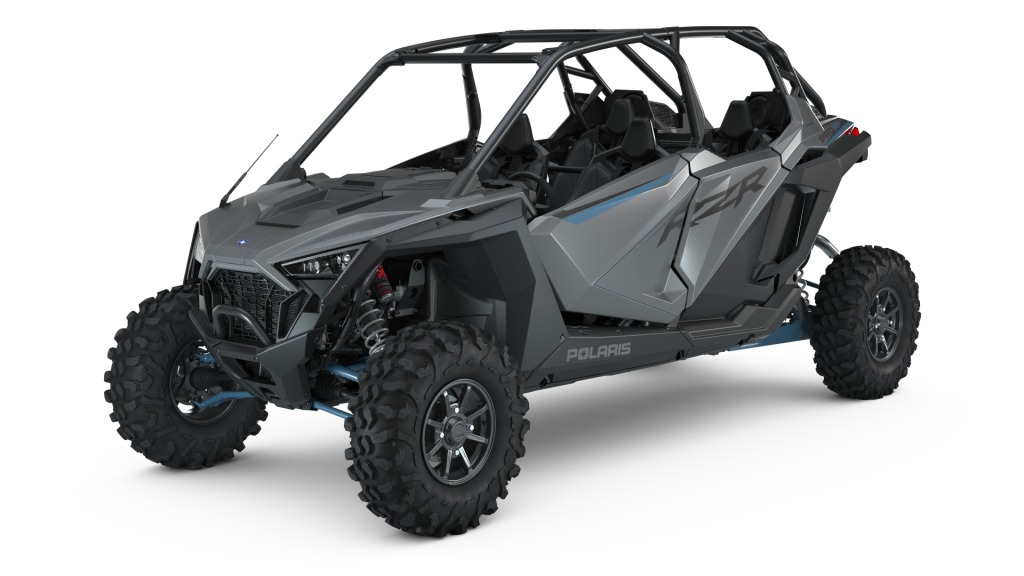 МОТОВЕЗДЕХОД POLARIS RZR Pro XP 4 Ultimate — Matte Titanium Metallic  Артмото - купить квадроцикл в украине и харькове, мотоцикл, снегоход, скутер, мопед, электромобиль