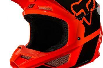 Детский мотошлем FOX YTH V1 MIPS REVN HELMET [Flo Orange]