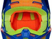 Детский мотошлем FOX YTH V1 OKTIV HELMET [Blue]