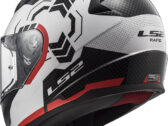 МОТОШЛЕМ LS2 FF353 RAPID GHOST WHITE BLACK RED