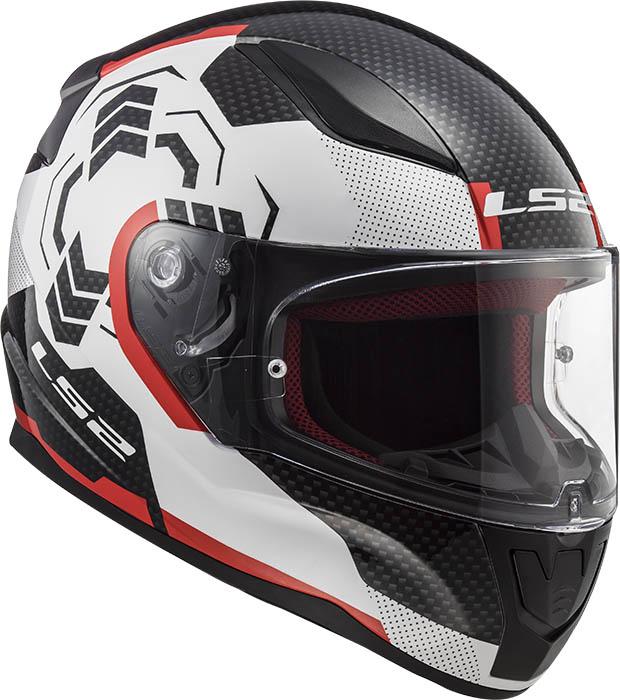 МОТОШЛЕМ LS2 FF353 RAPID GHOST WHITE BLACK RED  Артмото - купить квадроцикл в украине и харькове, мотоцикл, снегоход, скутер, мопед, электромобиль