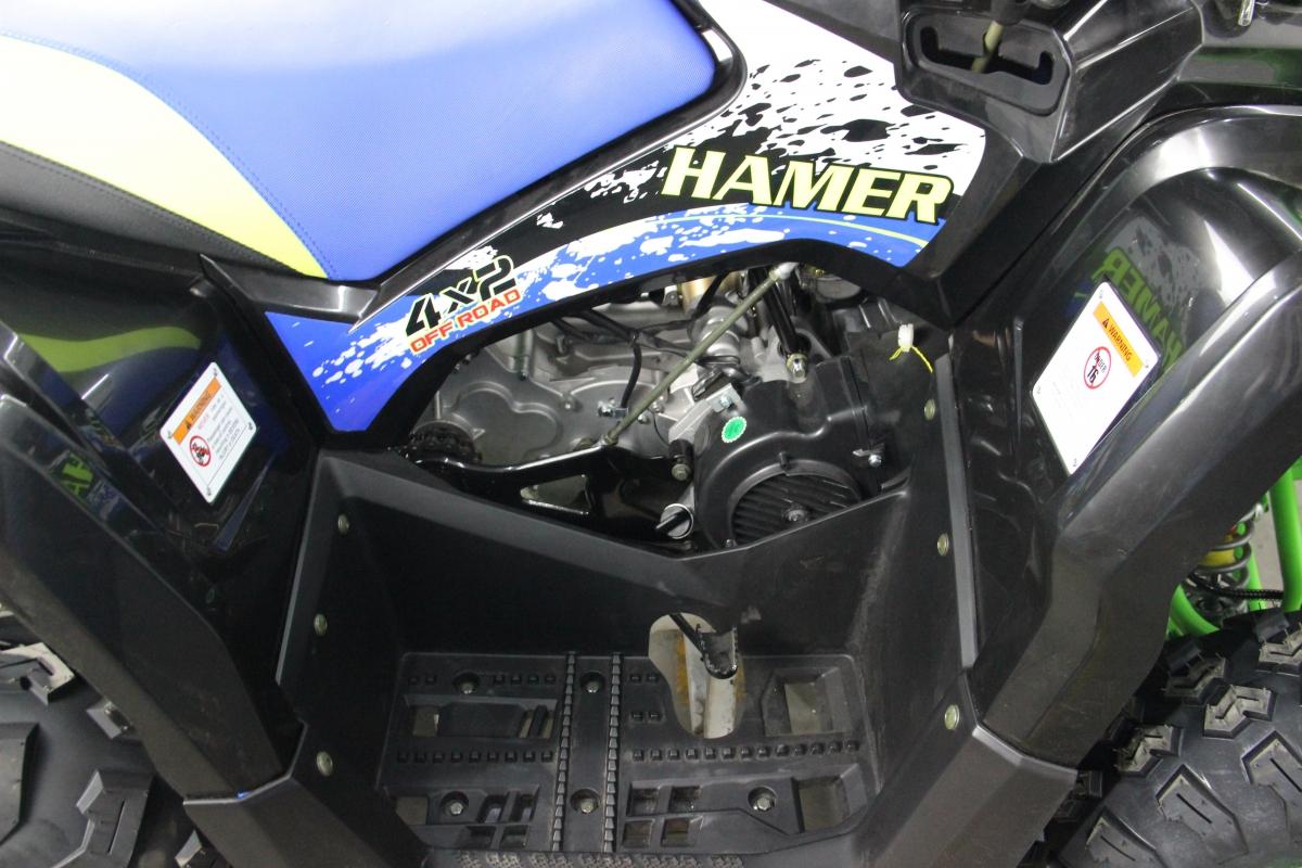КВАДРОЦИКЛ HAMER 200 LX  Артмото - купить квадроцикл в украине и харькове, мотоцикл, снегоход, скутер, мопед, электромобиль