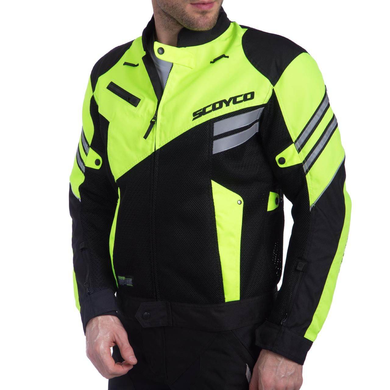 Мотокуртка Scoyco JK36 Green  Артмото - купить квадроцикл в украине и харькове, мотоцикл, снегоход, скутер, мопед, электромобиль
