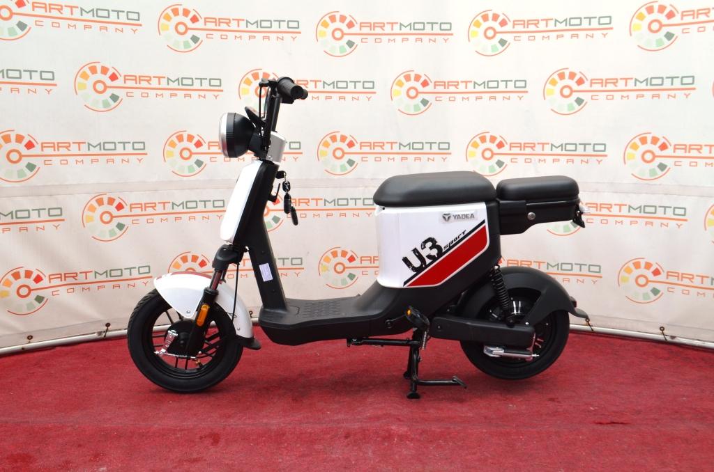 ЭЛЕКТРОСКУТЕР YADEA U3 500  Артмото - купить квадроцикл в украине и харькове, мотоцикл, снегоход, скутер, мопед, электромобиль