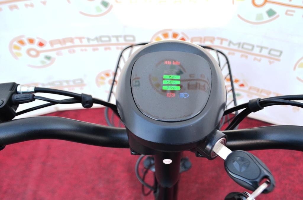 ЭЛЕКТРОВЕЛОСИПЕД YADEA JS  Артмото - купить квадроцикл в украине и харькове, мотоцикл, снегоход, скутер, мопед, электромобиль