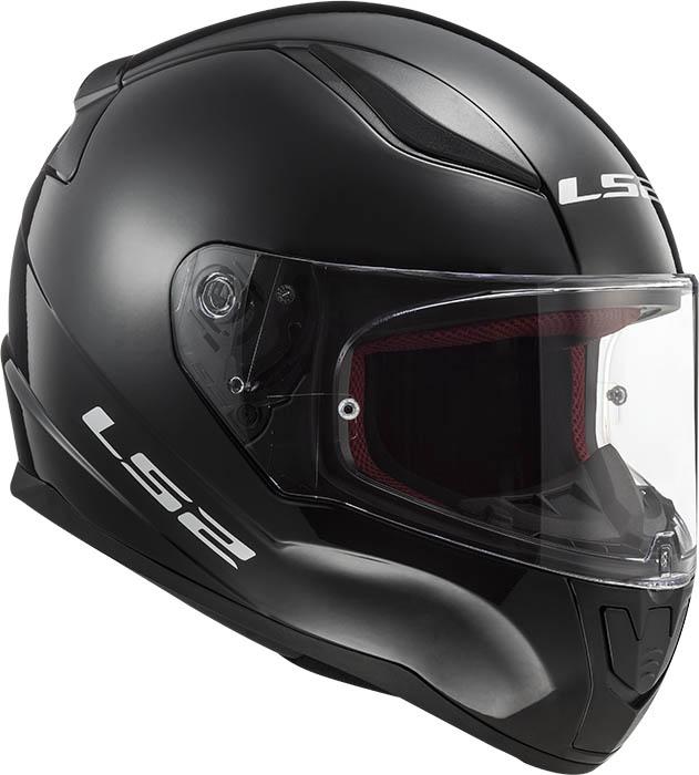 МОТОШЛЕМ LS2 FF353 RAPID SINGLE MONO GLOSS BLACK  Артмото - купить квадроцикл в украине и харькове, мотоцикл, снегоход, скутер, мопед, электромобиль