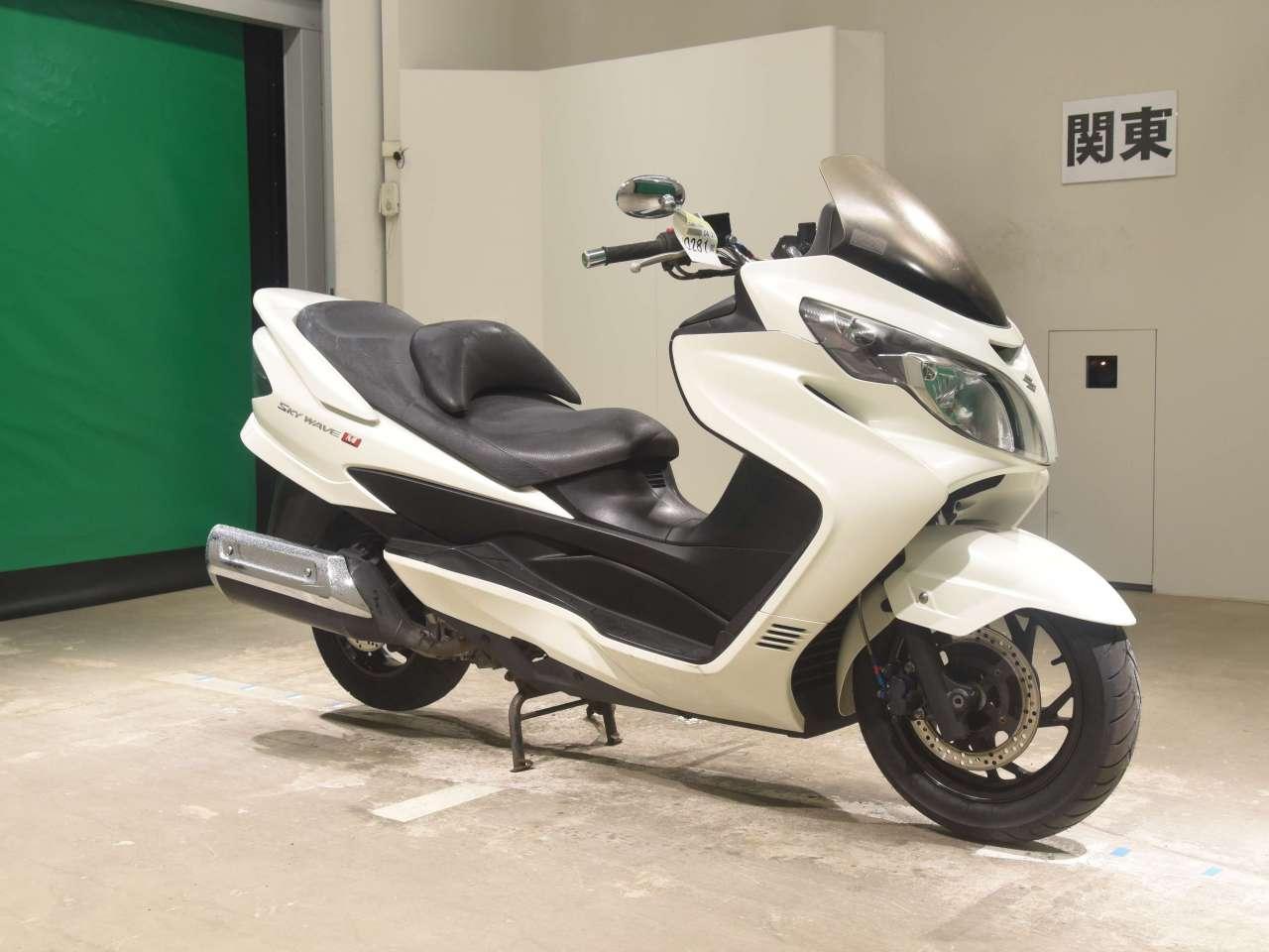 МАКСИ-СКУТЕР SUZUKI SKYWAVE 250M CJ45A  Артмото - купить квадроцикл в украине и харькове, мотоцикл, снегоход, скутер, мопед, электромобиль