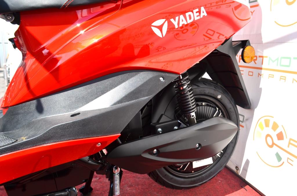 ЭЛЕКТРОСКУТЕР YADEA EM215 2000W  Артмото - купить квадроцикл в украине и харькове, мотоцикл, снегоход, скутер, мопед, электромобиль