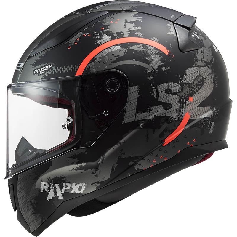 Мотошлем LS2 FF353 RAPID CIRCLE MATT TITANIUM FLUO ORANGE  Артмото - купить квадроцикл в украине и харькове, мотоцикл, снегоход, скутер, мопед, электромобиль