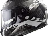 Мотошлем LS2 FF320 STREAM EVO HYPE BLACK WHITE TITANIUM