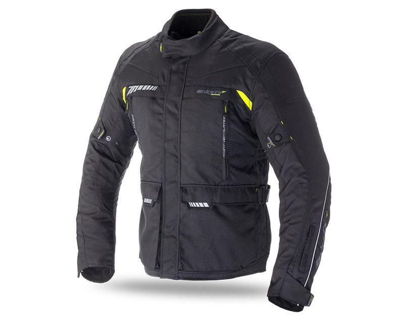 Мотокуртка SEVENTY SD-JT41 TOURING BLACK/FLUOR YELLOW с подстежкой  Артмото - купить квадроцикл в украине и харькове, мотоцикл, снегоход, скутер, мопед, электромобиль