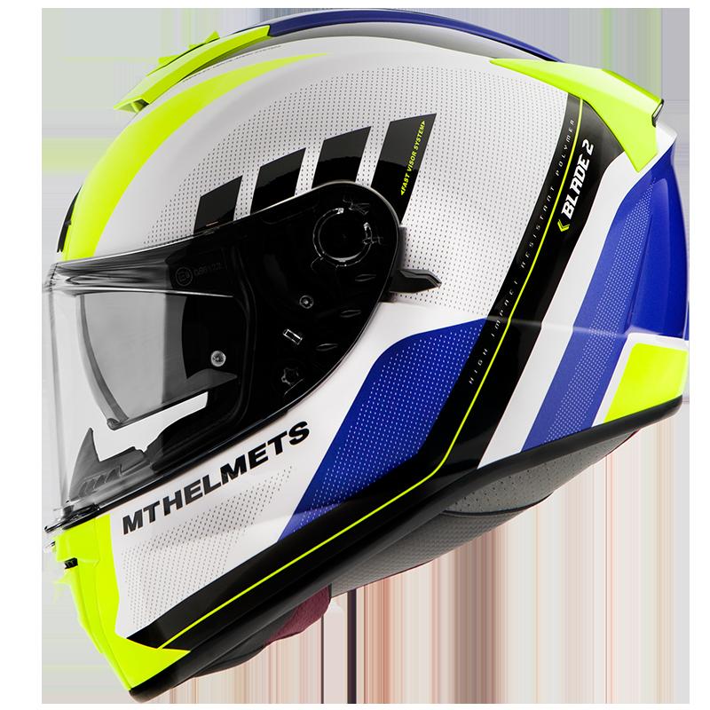 Мотошлем MT BLADE 2 SV PLUS GLOSS PEARL FLUOR YELLOW  Артмото - купить квадроцикл в украине и харькове, мотоцикл, снегоход, скутер, мопед, электромобиль