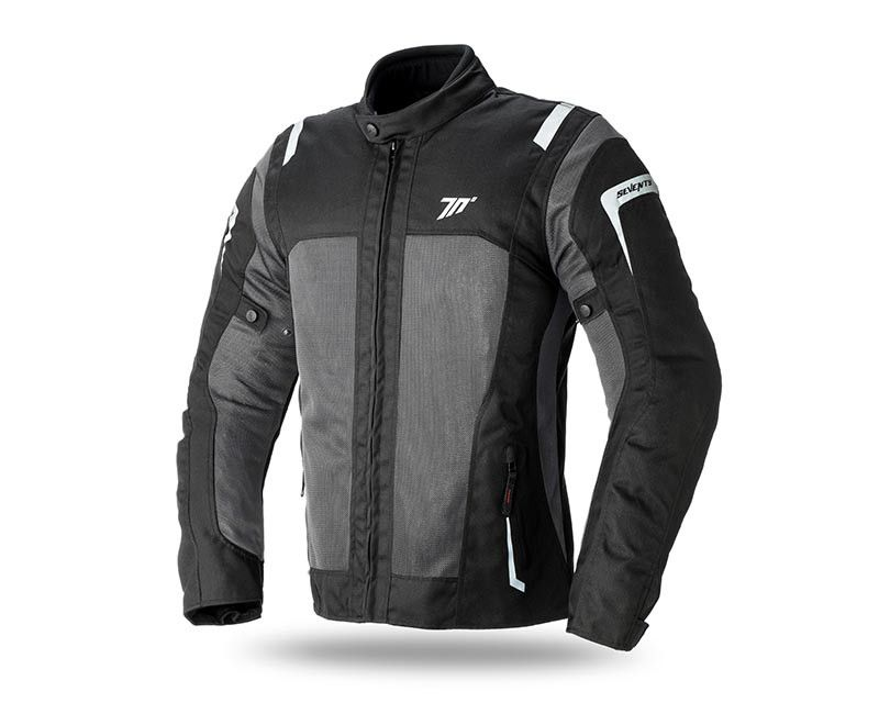 Мотокуртка SEVENTY JT44 MAN BLACK/GREY  Артмото - купить квадроцикл в украине и харькове, мотоцикл, снегоход, скутер, мопед, электромобиль