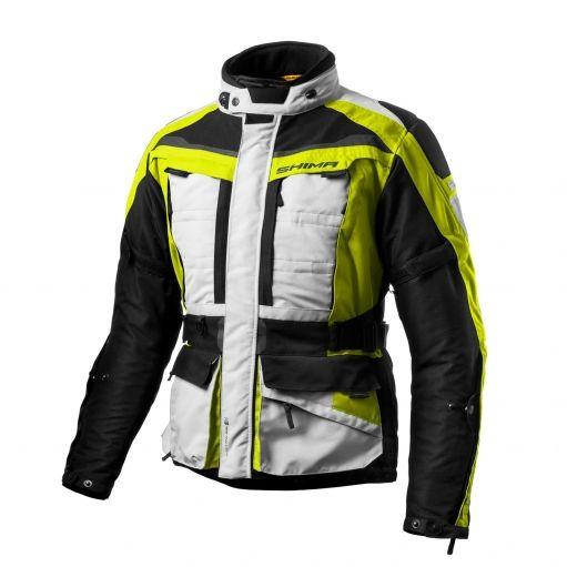 Мотокуртка  Shima Horizont Fluo Yellow M  Артмото - купить квадроцикл в украине и харькове, мотоцикл, снегоход, скутер, мопед, электромобиль